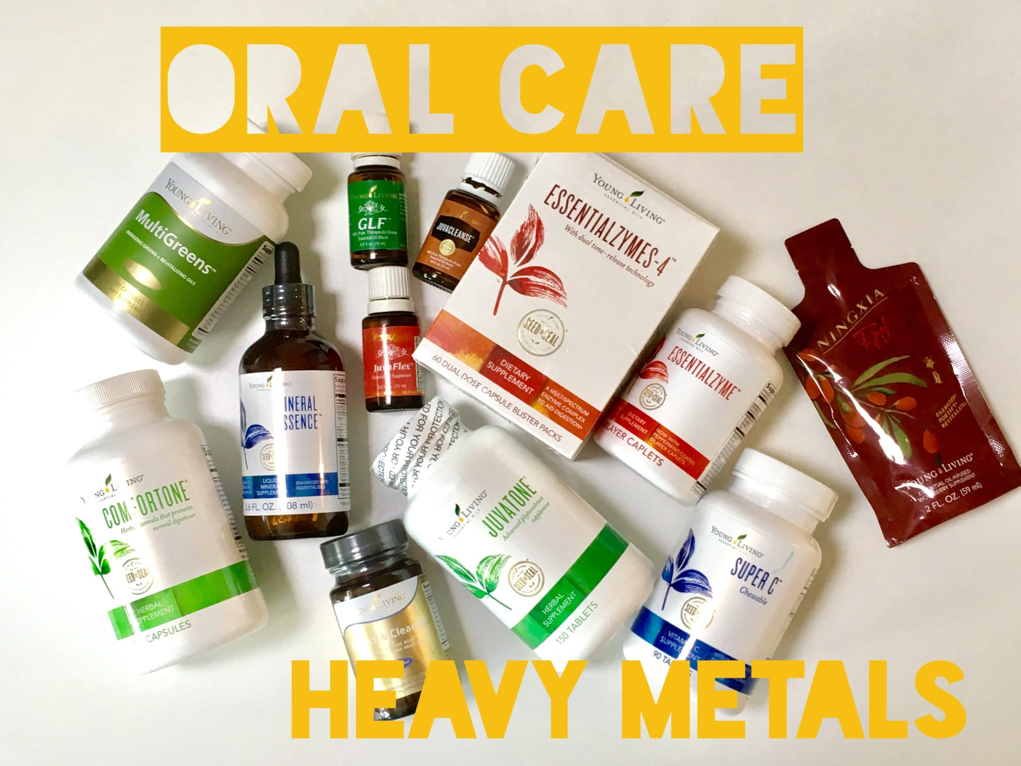 Oral Care: Heavy Metals