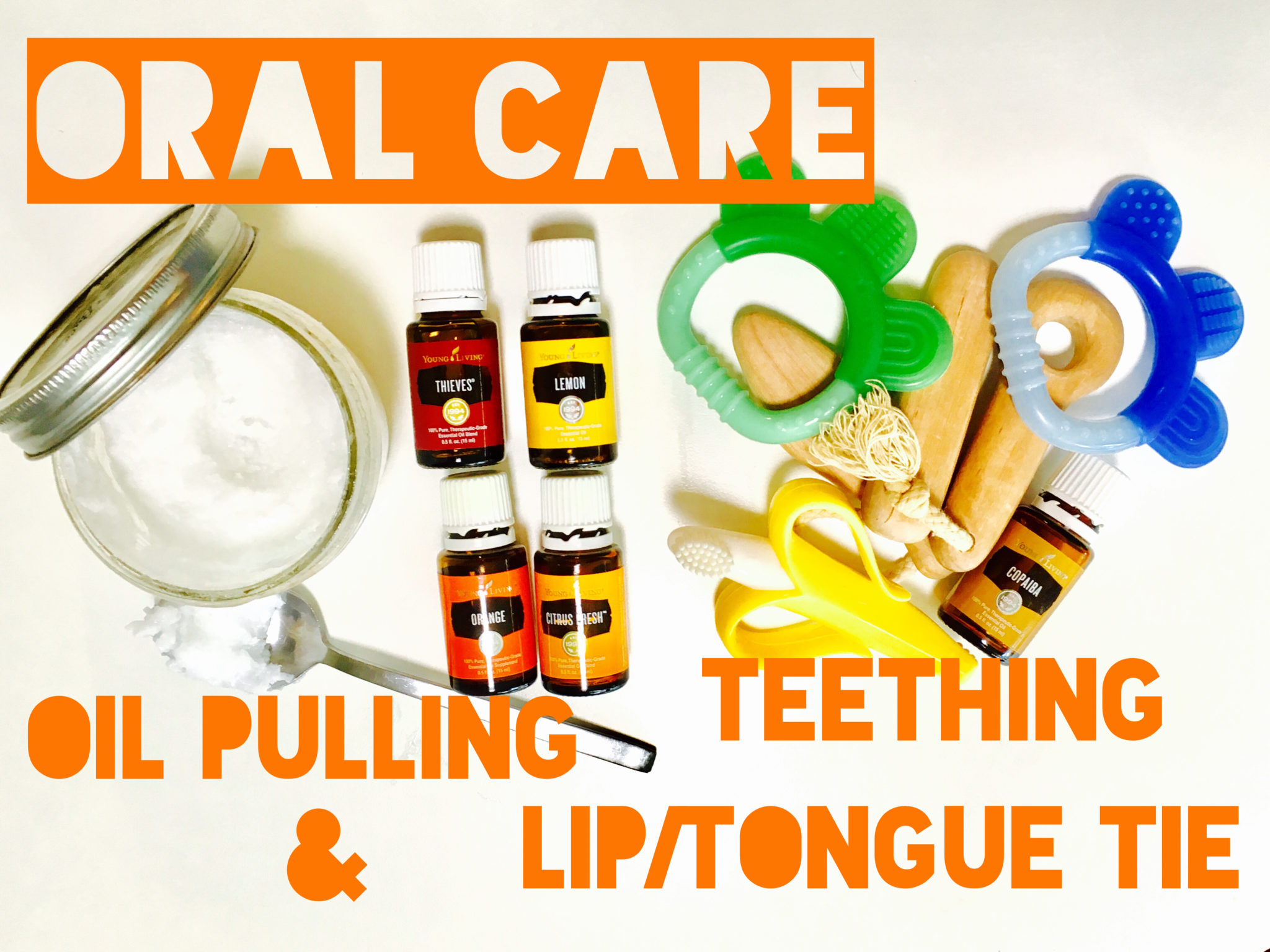 Oral Care Oil Pulling Teething Liptongue Tie Swell Living